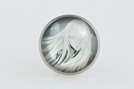 Chica Manga claymore irene butterfly clasp pin