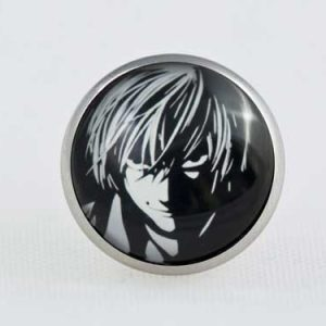 Chica Manga Death Note L butterfly clasp pin