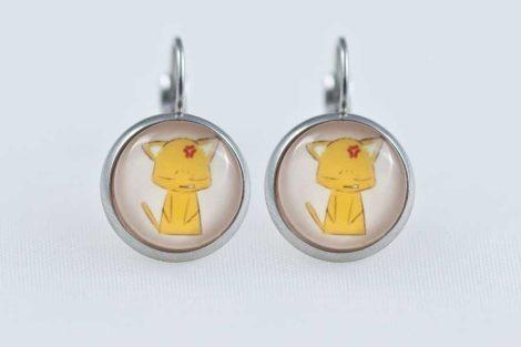 Chica-Manga-Fruits-Basket-Earrings-dangle-Stailess-steel-Kyo