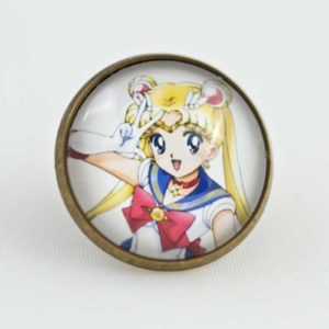 Chica Manga Sailor Moon Pin 20mm Bronze Sailor Moon