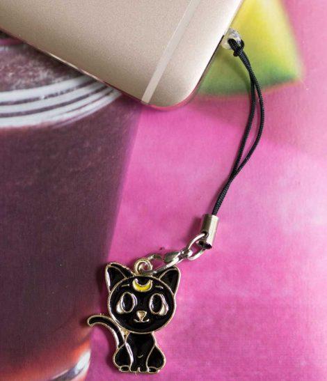 Chica Manga Mobile strap sailor moon black cat luna