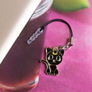 Chica Manga Mobile strap sailor moon black cat luna