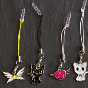 Chica Manga Mobile strap sailor moon star