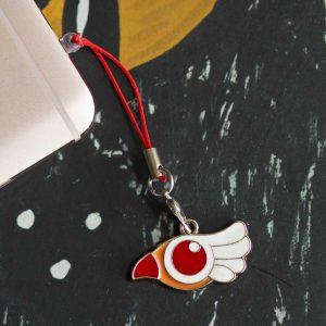 Chica-Manga-mobile-strap-Cardcaptor-Sakura-Clam-Sealing-Wand-bird-form-1