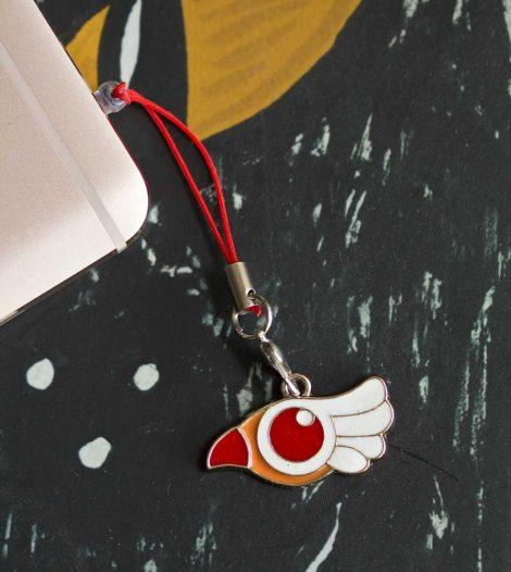 Chica Manga mobile strap Cardcaptor Sakura Clam Sealing Wand bird form
