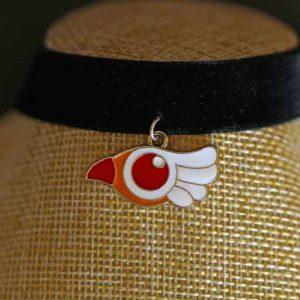 Chica Manga black Chocker Cardcaptor Sakura Sealing Wand bird form