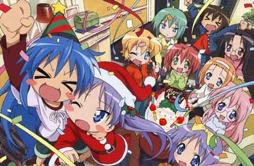 Chica Manga Christmas Special lucky star