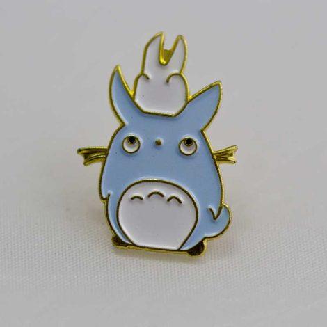 Chica Manga Chū and chibi Totoro enamel pin