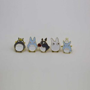 Chica Manga My Neighbor Totoro enamel pin