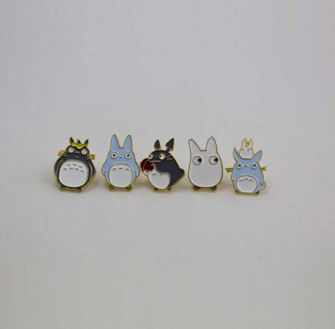 Chica Manga My Neighbor Totoro enamel pin
