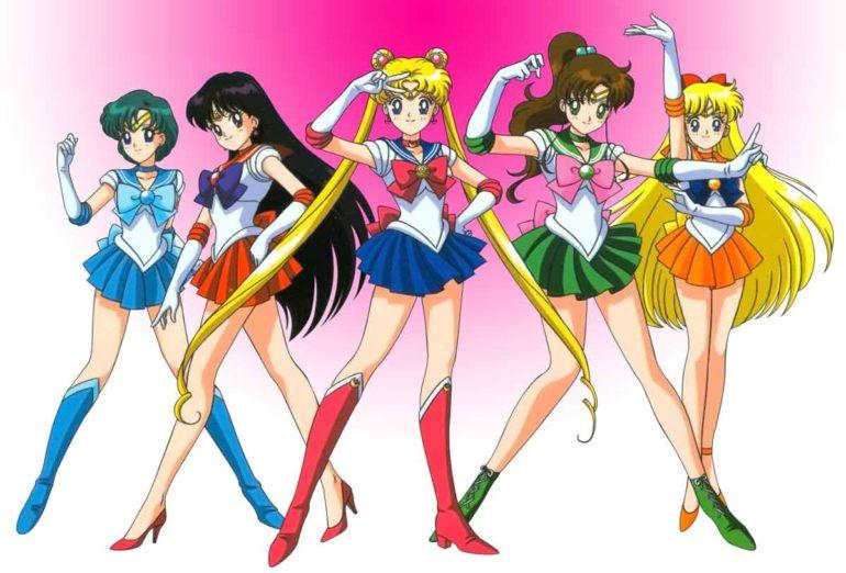 Chica Manga Sailor Moon