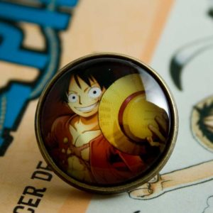 Chica Manga One Piece Monkey D. Luffy pin