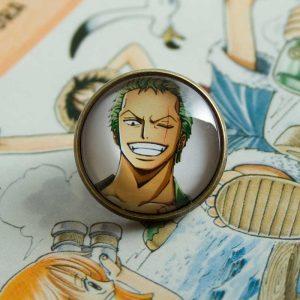 Chica Manga One Piece Zoro pin