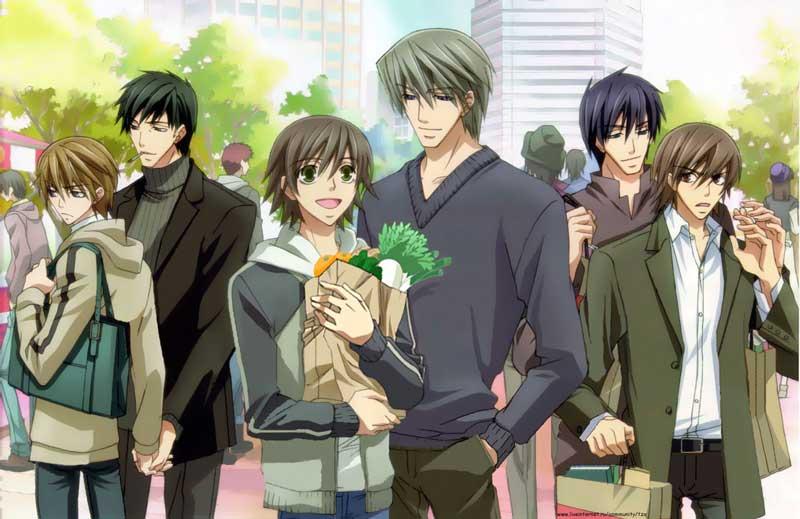 Chica Manga Junjou Romantica