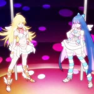 Anime that turn 10 this year  Panty & Stocking with Garterbelt